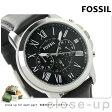 フォッシル グラント クロノグラフ メンズ 腕時計 FS4812 FOSSIL クオーツ ブラック レザーベルト【あす楽対応】