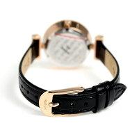 フォリフォリミニダイナスティレディース腕時計WF13B014SSK-BKFolliFollieブラック×ローズゴールド