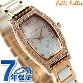 フォリフォリ ウィンター ウィッシーズ レディース 腕時計 WF14B022BSW Folli Follie クオーツ マザーオブパール×ピンクゴールド