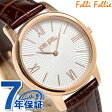 フォリフォリ マッチポイント レディース 腕時計 WF15R032SPW-BR Folli Follie ホワイト×ブラウン