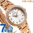 フォリフォリ アリア クオーツ レディース 腕時計 WF2B015BSS Folli Follie ホワイト×ローズゴールド