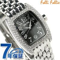 フォリフォリ腕時計レディースジルコニアブラックFolliFollieWF5T081BDK
