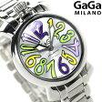 ガガミラノ クオーツ 35MM 6020.5 スイス製 マヌアーレ 腕時計 GaGa MILANO MANUALE