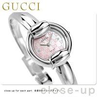 グッチ GUCCI 1400 時計 レディース ピンクシェル YA014513
