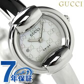 グッチ 時計 レディース 1400 ホワイトシェル GUCCI YA014518
