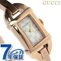 グッチ時計レディース6800ホワイトシェル×ピンクゴールドGUCCIYA068584
