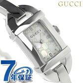 グッチ 時計 レディース 6800 ホワイトシェル GUCCI YA068588
