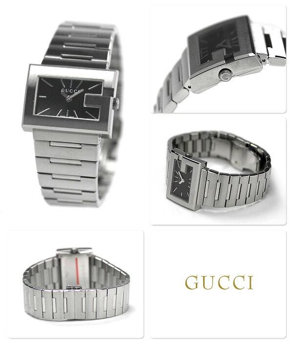 グッチ 時計 レディース GUCCI 腕時計 Gレクタングル ブラック YA100519【あす楽対応】