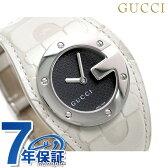 グッチ 時計 レディース Gバンデュー ブラック レザーベルト GUCCI YA104504