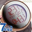 グッチ 時計 メンズ アイグッチ 114 デジタル ミラー×ブラウンラバー GUCCI YA114209