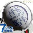 グッチ 時計 メンズ アイグッチ 114 デジタル ミラー×ホワイトラバー GUCCI YA114214