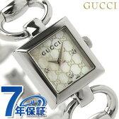 グッチ 時計 レディース トルナブォーニ ダイヤモンド ホワイトシェル GUCCI YA120517