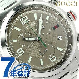 【GUCCI】グッチ Gタイムレス XLクロノグラフ メンズ腕時計