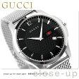 グッチ 時計 メンズ Gタイムレス スリム デイト ブラック GUCCI YA126308