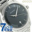 グッチ G-タイムレス クオーツ メンズ 腕時計 YA126441 GUCCI グレー