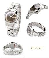 グッチ時計レディースGタイムレスペアウォッチブラウンGUCCIYA126503