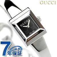 グッチ時計レディースGフレームブラックGUCCIYA128512