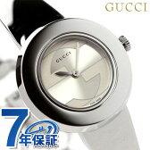 グッチ 時計 レディース Uプレイ アナログ シルバー GUCCI YA129502