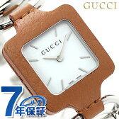 グッチ クオーツ 1921 コレクション レディース 腕時計 YA130401 GUCCI ホワイト×ブラウン