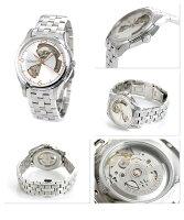 ハミルトン自動巻きジャズマスターオープンハートメンズH32565155HAMILTON腕時計シルバー