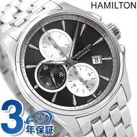 ハミルトン ジャズマスター 腕時計 HAMILTON H32596181 オート クロノグラフ 時計