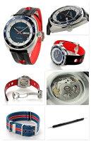 ハミルトンパンユーロオート42MMメンズ腕時計H35405741HAMILTON自動巻きブルー×ブラック