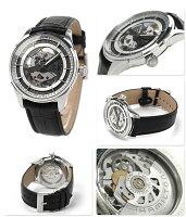 ハミルトン腕時計ジャズマスタービューマチックスケルトンジェント自動巻きメンズスケルトン×ブラックレザーベルトHAMILTONH42555751