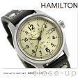 H70595523 ハミルトン HAMILTON カーキ フィールド