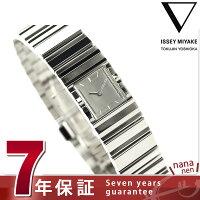 【ショッパー付き♪】イッセイミヤケ ヴィ 吉岡徳仁 クオーツ 腕時計 NYAC002 ISSEY MIYAKE シルバー
