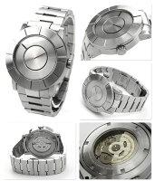 イッセイミヤケISSEYMIYAKE腕時計メンズTOautomaticティーオーオートマティック吉岡徳仁シルバーSILAS001