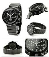 イッセイミヤケ腕時計メンズトラペゾイドクロノグラフブラックISSEYMIYAKESILAZ001