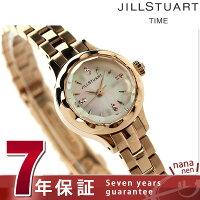 ジルスチュアートフラワーリングレディース腕時計NJAF001JILLSTUARTホワイトシェル×ピンクゴールド