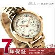 ジル バイ ジルスチュアート フラワー クラウン レディース NJAG401 JILL by JILLSTUART 腕時計 ホワイト×ピンクゴールド