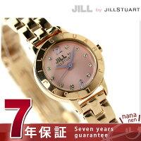 ジルバイジルスチュアートロゴリングレディースSILDAE03JILLbyJILLSTUART腕時計ピンク×ピンクゴールド