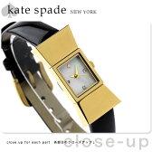 ケイトスペード ニューヨーク 腕時計 レディース カーライル ホワイトシェル×ブラック レザーベルト KATE SPADE NEW YORK 1YRU0068