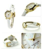ケイトスペードニューヨークタイニーメトロ21mm1YRU0422KATESPADENEWYORKレディース腕時計クオーツホワイトシェル