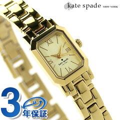 ケイトスペード ニューヨーク タイニー ハドソン 15mm 1YRU0630 KATE SPADE NEW YORK レディース 腕時計 クオーツ ゴールド【あす楽対応】
