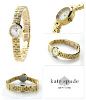 ケイトスペードニューヨークタイニーグラマシー腕時計1YRU0798KATESPADENEWYORKホワイトシェル×ゴールド