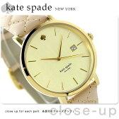 ケイトスペード ニューヨーク メトロ グランド 38mm 1YRU0844 KATE SPADE NEW YORK 腕時計 ゴールド×ベージュ
