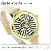 ケイトスペードニューヨークメトロボウレディースKSW1031KATESPADENEWYORK腕時計ゴールド×ピンクベージュ