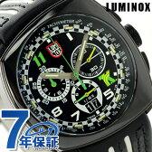 ルミノックス 1140シリーズ 腕時計 LUMINOX トニー カナーン クロノグラフ 1142 メンズ クオーツ ブラック×ホワイト