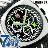 ルミノックス 1140シリーズ 腕時計 LUMINOX トニー カナーン クロノグラフ 1143 メンズ クオーツ ブラック×ホワイト