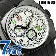 ルミノックス フィールド スポーツ トニー カナーン シリーズ クロノグラフ 腕時計 ホワイト×ブラックラバー LUMINOX 1147【あす楽対応】