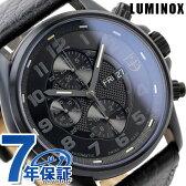 ルミノックス フィールド スポーツ オートマチック 腕時計 ブラックアウト レザーベルト LUMINOX 1861.BO
