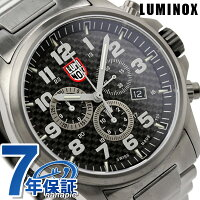 ルミノックスアタカマフィールドクロノグラフアラーム腕時計カーボンブラックLUMINOX1942