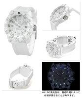【替えベルト付き♪】ルミノックス ネイビーシールズ 腕時計 LUMINOX スノーパトロール 3057 ホワイトアウト ラバーベルト WHITE OUT 3057.WO 時計【あす楽対応】