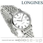 ロンジン エレガント コレクション 25.5mm 自動巻き L4.309.4.11.6 LONGINES 腕時計 ホワイト