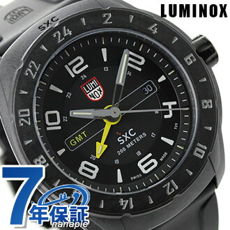 Luminox SXC polycarbonate carbon GMT 5021 LUMINOX men's watch Quartz Black