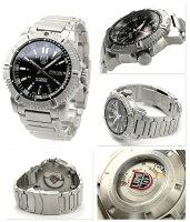 ルミノックスモダンマリナーオートマチックデイデイト腕時計ブラックLUMINOX6502