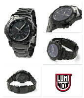 ルミノックス腕時計ネイビーシールズカラーマークシリーズデイトレディースオールブラックLUMINOX7252.bo
